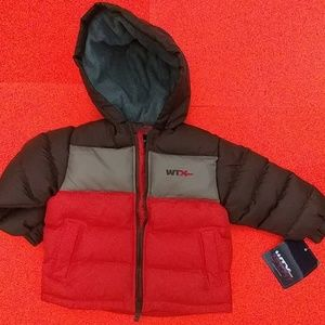WTXeme thermal coat hood BOYS size 4 and 5-6